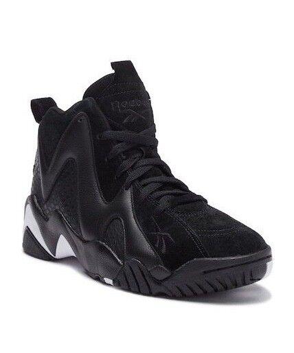 Men Reebok Kamikaze II ATL-LAX Basketball shoes Size 9.5 - 13 Black White CM9416