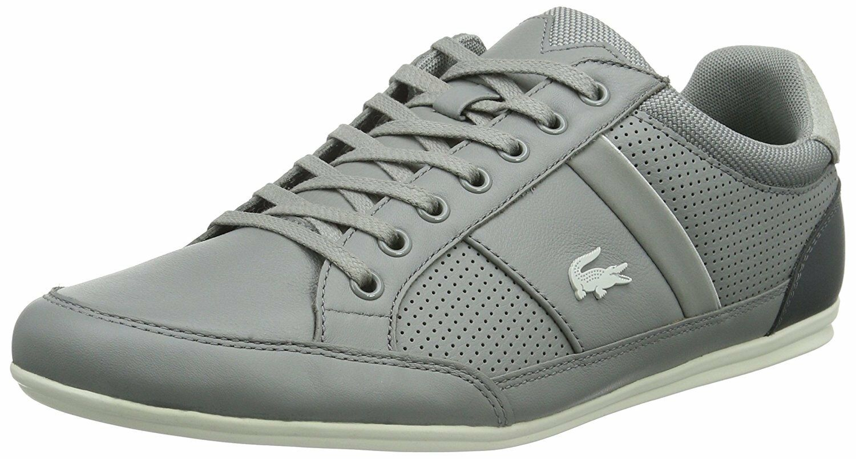 Lacoste Herren Sneaker Chaymon 116 1 SPM Grau Unisex Gr.40 //w152