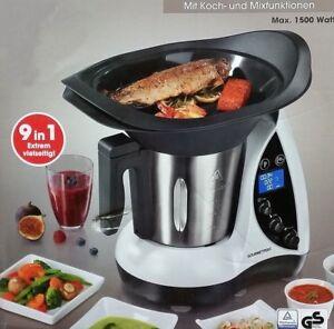 Gourmetmaxx Thermo Multikocher 1500W Kochen Mixen Küchenmaschine ...