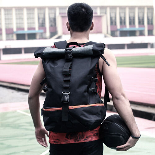 Men/'s Sports Backpack Rucksack Basketball Cycling Travel Bag Schoolbag Daypack