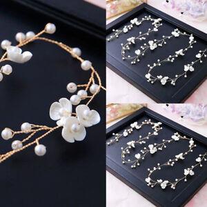 Women-Bride-Headband-Floral-Pearl-Headwear-Hair-Jewelry-Accessories-Elegant