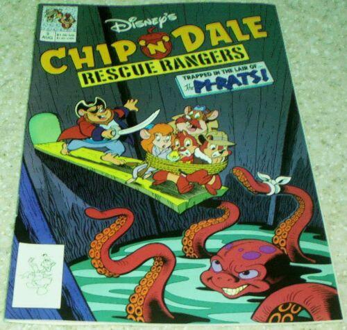 Walt Disney/'s Chip /'n/' Dale Rescue Rangers 3 1990 9.2 NM-