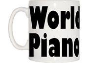 World's Best Piano Sintonizador Taza