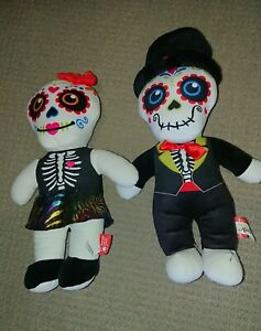 DAY-OF-THE-DEAD-PLUSH-DOLLS-BOY-AND-GIRL