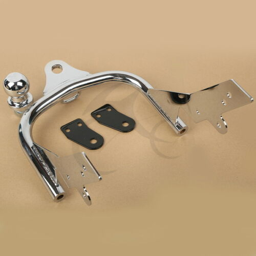 Chrome Trailer Hitch For Harley Davidson Road King Electra Glide Tour Glide New