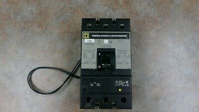 Square D KAL262501021 Thermal Magnetic Circuit Breaker w//Shunt Trip and Handle