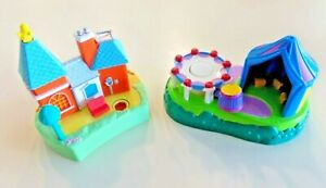 Polly Pocket Disney/'s Magic Kingdom replacement piece one small tower top