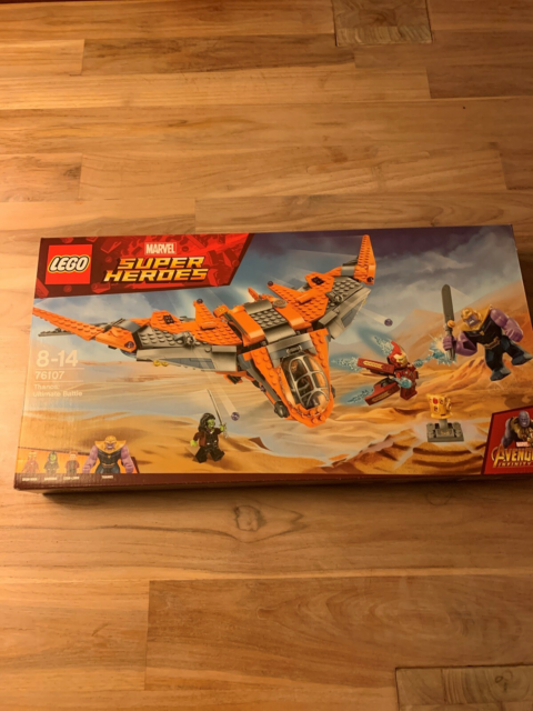 Lego Super heroes, 76107, I ubrudt emballage