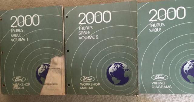 2000 Ford Taurus Sable Workshop Manual  U0026 Wiring Diagrams