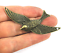 Antique Bronze connector Link BIRD Jewellery Charms Pendant Beads Crafts Cards