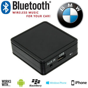 Dettagli su BMW Auto Bluetooth iPod iPhone Smartphone musica AUX in  Interfaccia Adattatore- mostra il titolo originale