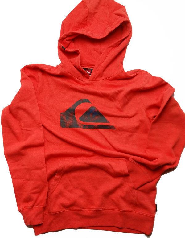 NWT Quiksilver Rooney Hooded Sweatshirt Long Sleeve  Gunmetal Gray  Large   P03