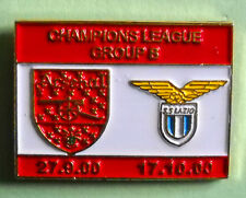 DISTINTIVO SPILLA PIN - ARSENAL-LAZIO - COHAMPIONS LEAGUE 2000/2001 - cod.1026V