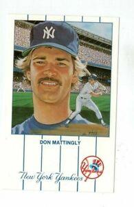 Vintage-post-card-New-York-Yankees-S-Rini-Print-of-Don-Mattingly