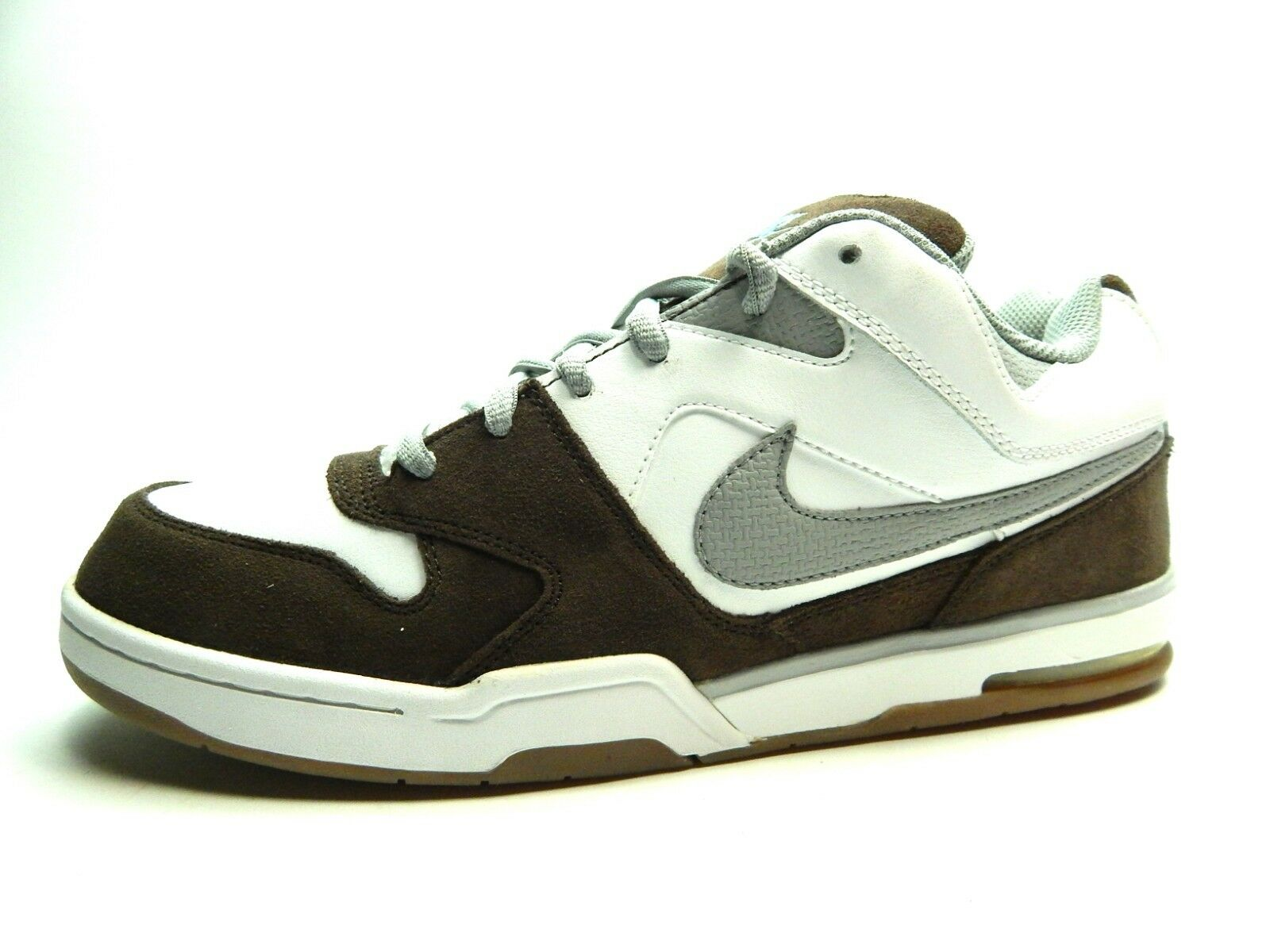 NEW NIKE Men's Air Contra White Matte silver dark cinder sizes 8.0 to 13.0