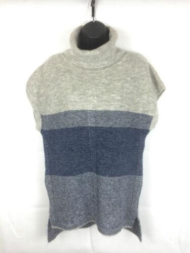 Ex M/&S Cowl Neck Colour Block Tabard Sleeveless Jumper  RRp £35
