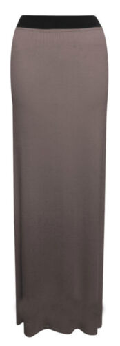 NEW WOMENS LADIES GYPSY LONG JERSEY MAXI SKIRT SIZE 8-26