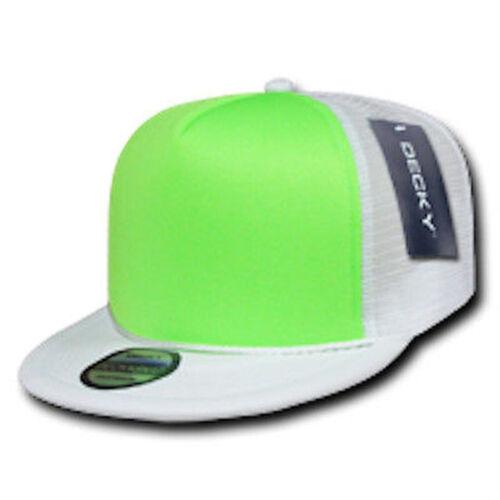 BASEBALL CAP FLAT RAPPER TRUCKER MESH NEON FARBEN  222DECY