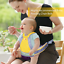 Jolik Child Motorcycle Safety Harness with 4-in-1 Buckle Breathable Material in