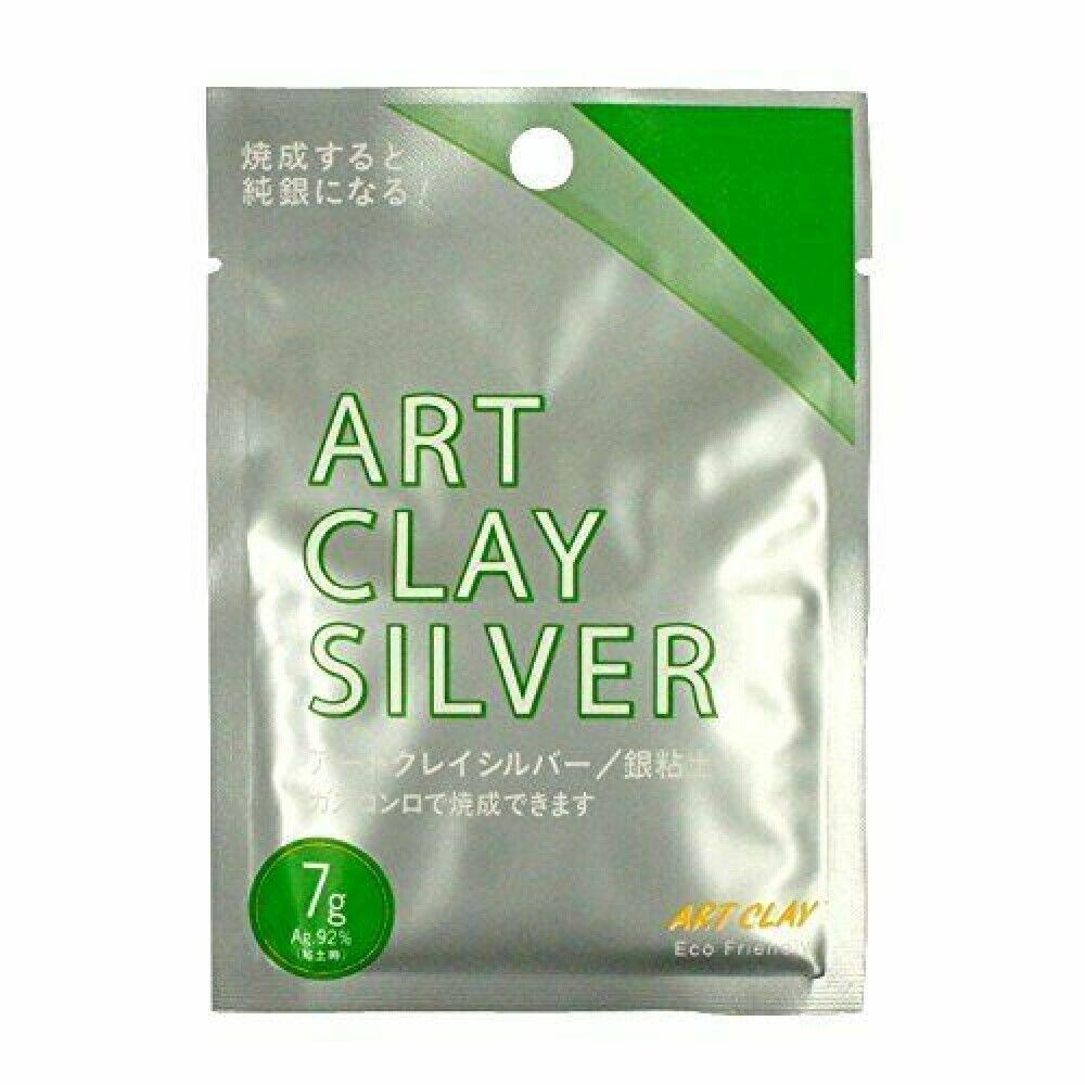 AIDA Art Clay Silver 50g Precious Metal Clay PMC Low Fire Series A-0275 JAPAN