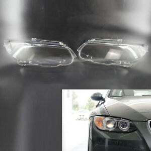 Image Is Loading Car Headlight Headlamp Lens Cover Fit For BMW