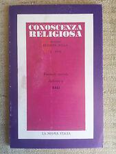 Conoscenza religiosa - direttore Elèmire Zolla 2 1978 dedicato a Bali