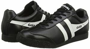Weiß Shoes Womens Cla198 7 Sneaker Leather 3 Harrier Gola Trainers Uk Schwarz 0OqP4Twx