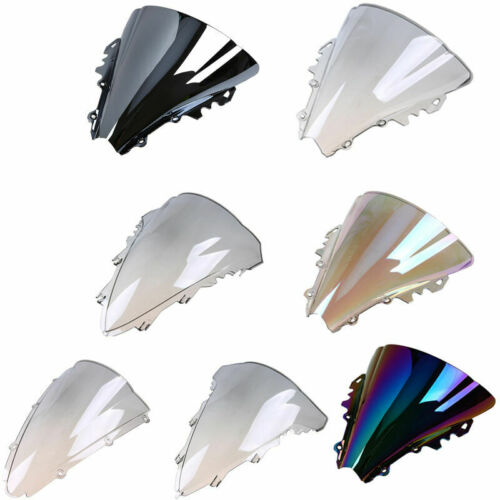 Wind Deflector Windshield Windscreen For 2009-2013 Yamaha YZF R1 10 11 12 00-01