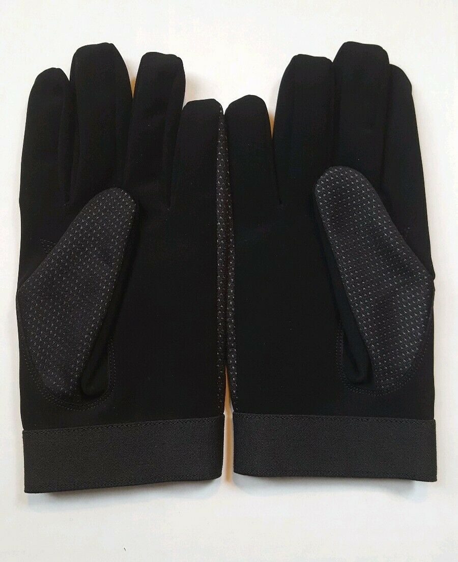 Black 2 Tone Gloves Men's Medium Close fitting, safety gloves