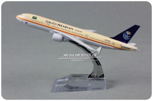 SAUDI ARABIAN BOEING 777 Passenger Airplane Plane Aircraft Diecast Model