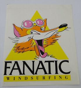 Fan-Aufkleber Fanatic Windsurfing Lion Surfing Surfboards 80er Iconic Surfbus