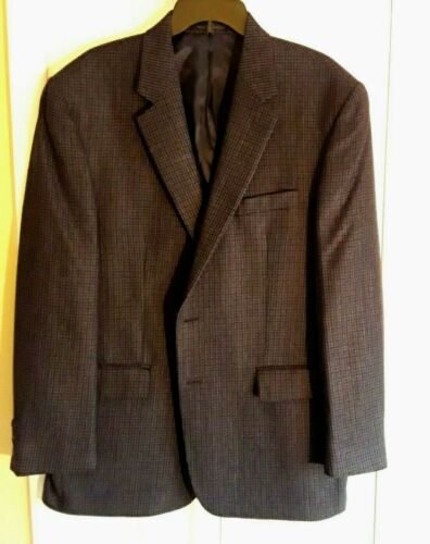 RALPH LAUREN CHAPS MENS HOUNDSTOOTH BLAZER SPORTS