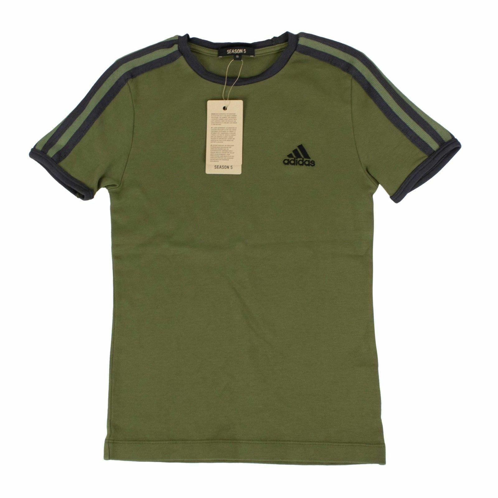 NWT YEEZY Season 5 Ranger Ink Grün Adidas Baby T-Shirt Größe S
