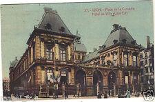 69 - cpa - LYON - L'Hôtel de Ville - Place de la Comédie  ( i 5801)