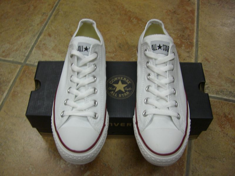Converse Chucks All Star OX Gr.37 White Weiß M7652 Neu