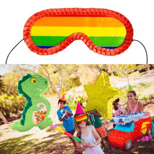 PINATA AUGENMASKE # Kinder Geburtstag Süßigkeiten Geschenke Party Zubehör F60930