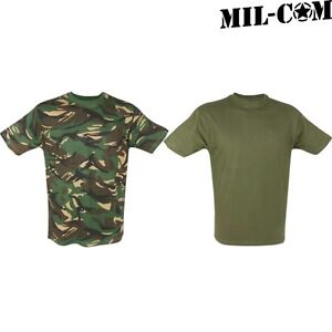 WORLD BOOK DAY MIL-COM KIDS ARMY T-SHIRT 3-12 YEARS DPM CAMO OLIVE ... 7fc88553c3b