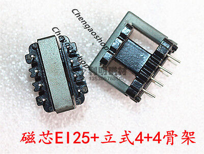 5set EI22 5+5pins Ferrite Cores bobbin,transformer core,inductor coil #Q1329 ZX