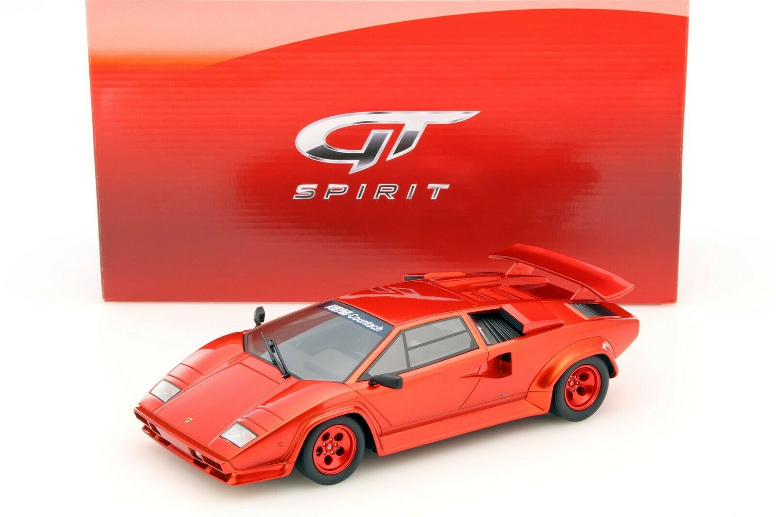 KOENIG SPECIAL COUNTACH TURBO rosso 1983 Candy apple rosso - 1 18 - GT SPIRIT