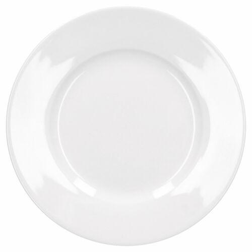 Frühstücksservice 36tlg. Trend Porzellan 12 Personen weiß Teller Becher Müsli