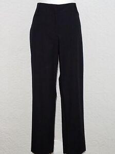 Petite Newport Black Talbots Casual Taglia Pants 14 Cotton 88 8fBaw