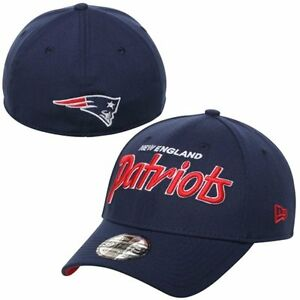 cheap for discount 7ea78 28d25 Image is loading New-England-Patriots-New-Era-Script-39Thirty-Mens-