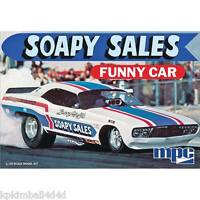 Mpc Soapy Sales Challenger Funny Car, 1/25, (2015), Factory Sealed Box