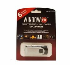 Halloween Window FX Family Collection USB w/6 Videos for Projector Brand New!