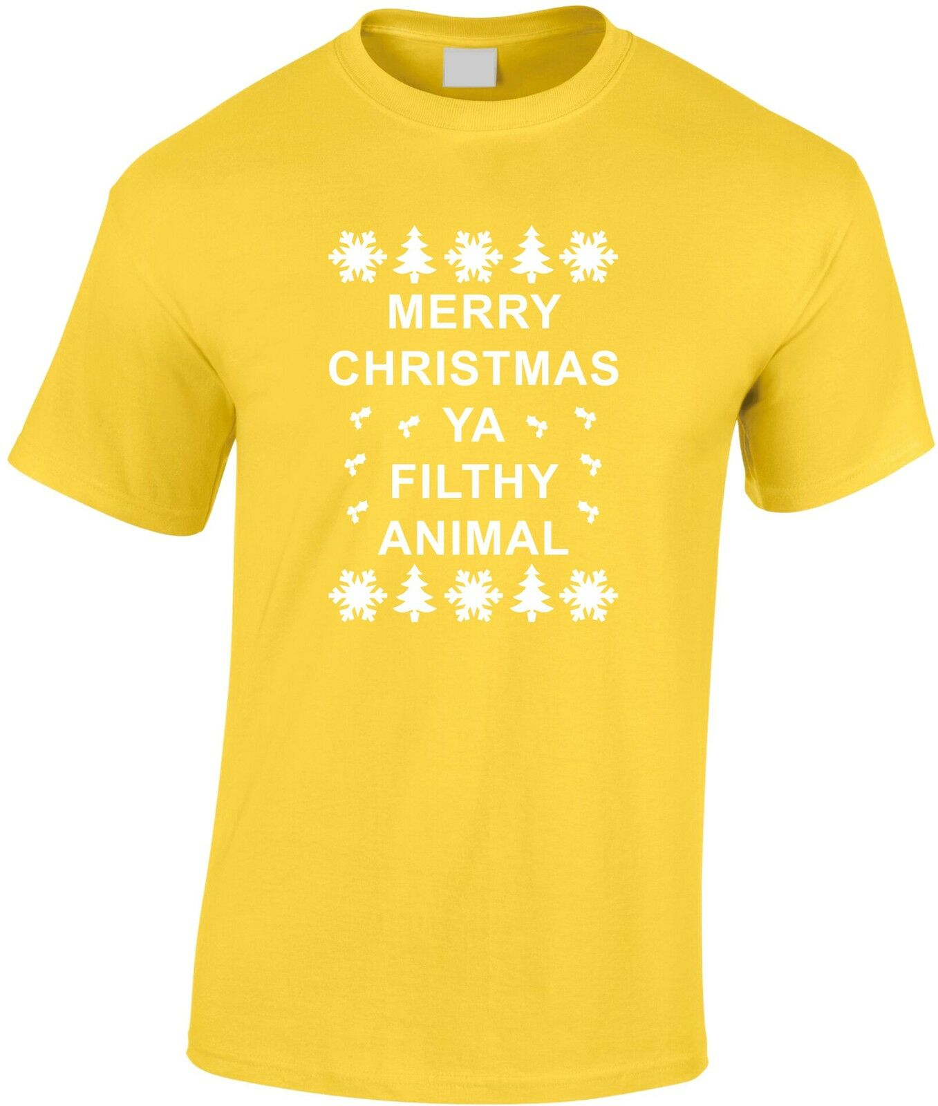 Kids Childrens Christmas T-shirt Snowman Merry Christmas Kids T-shirt KTS202