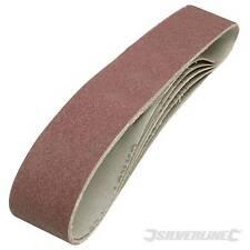 Cinturones de lijado 686mm X 50mm 5pk 80 Grits ajusta 240v cinturón lijadora amoladora y 463484