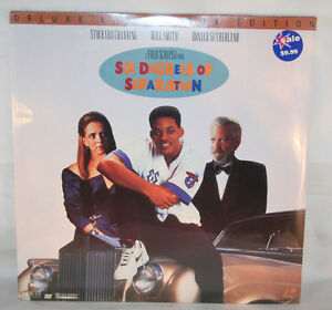 Image Is Loading Laserdisc 9 Six Degrees Of Separation Will Smith