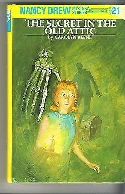 Nancy Drew Book - The Secret in the Old Attic #21 - 1998 Ed - Hardcover