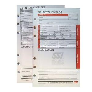 SSI Logbuch-Einlagen LEVEL 4 bis 5