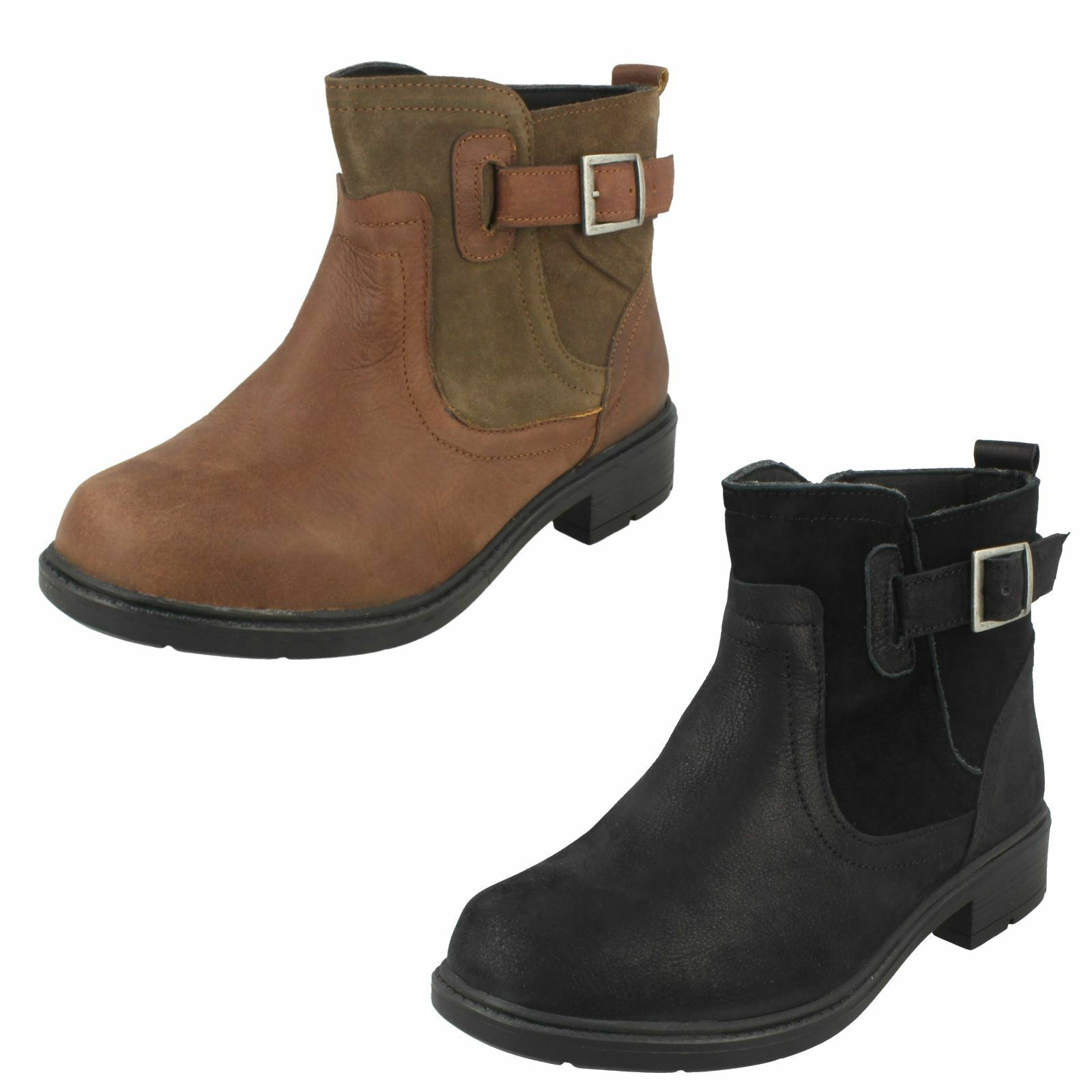 EasyB Ladies Extra Wide Ankle Boots Bernay 78480A